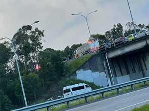 Traffic at standstill after crash near motorway