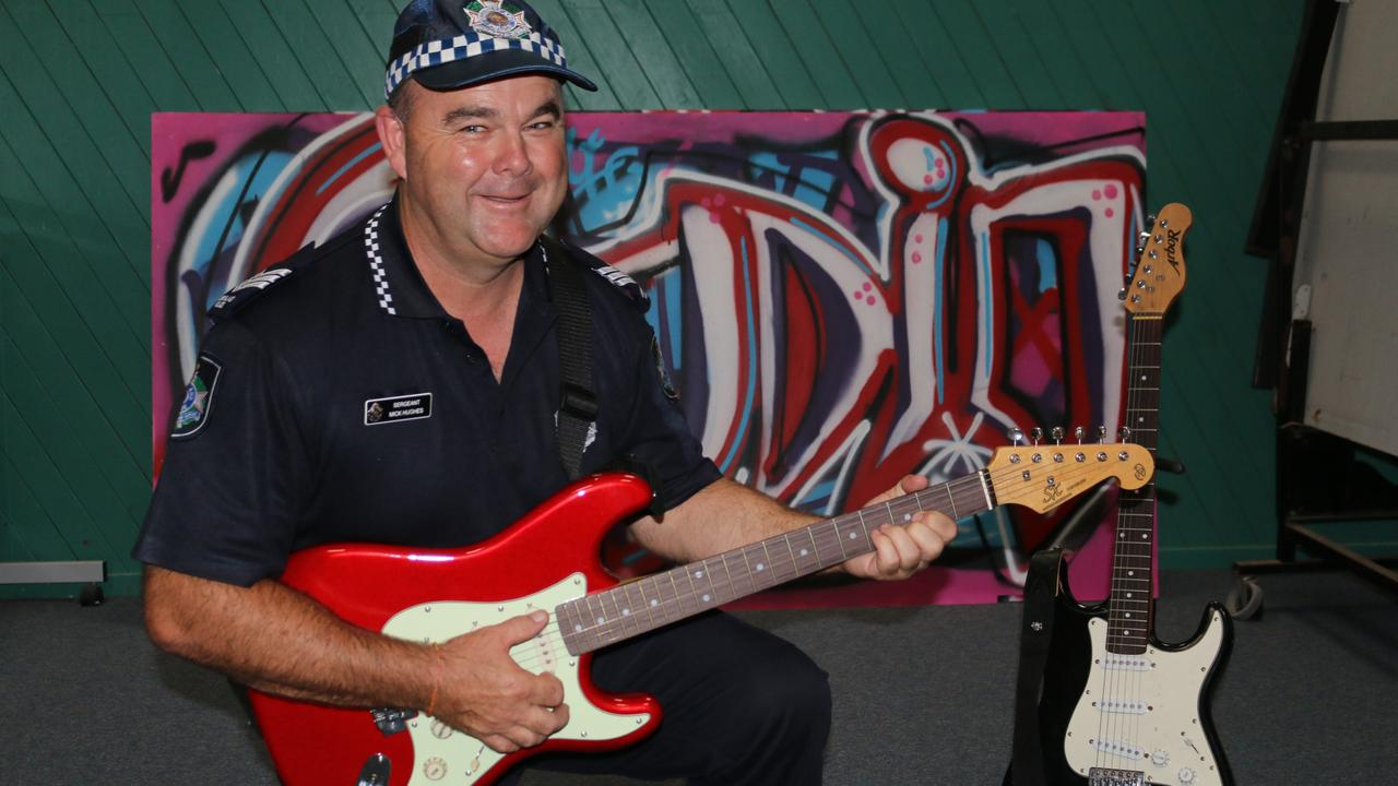 PCYC Sunshine Coast youth club manager Sergeant Mick Hughes is hopeful the community will get behind a new space for musicians to jam. Picture: Tom Threadingham