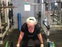 Coast 70yo Jose McCool weightlifting