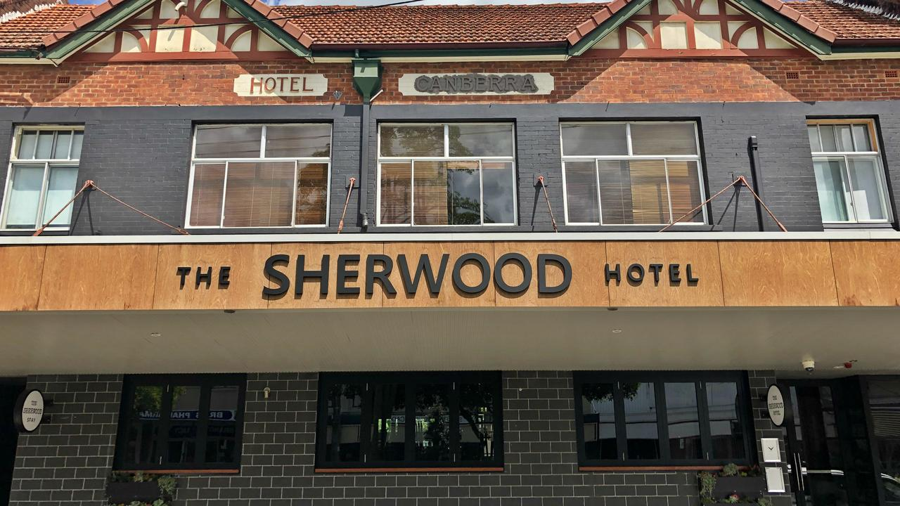 The Sherwood Hotel in Molesworth St is opening soon. Photo: Alison Paterson