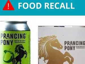 Prancing Pony cider recalled because 'cans may rupture'
