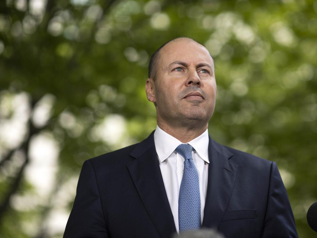 Treasurer Josh Frydenberg says Facebook news ban will be a blow to its reputation in Australian. Picture: NCA NewsWire/Gary Ramage