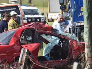 Cause of crash under investigation