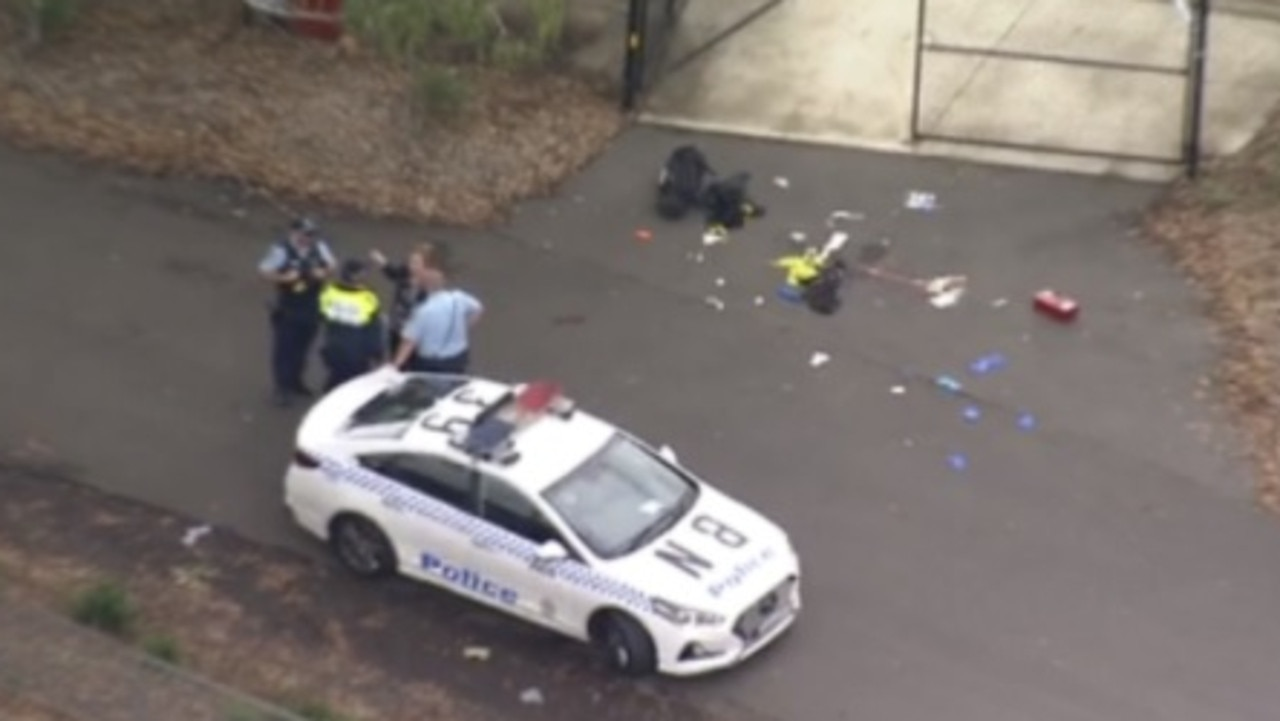 A teenager has been stabbed multiple times in a horror attack this afternoon in Sydney's west.