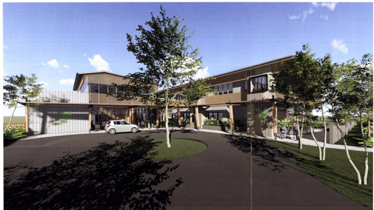 Image of the proposed centre.