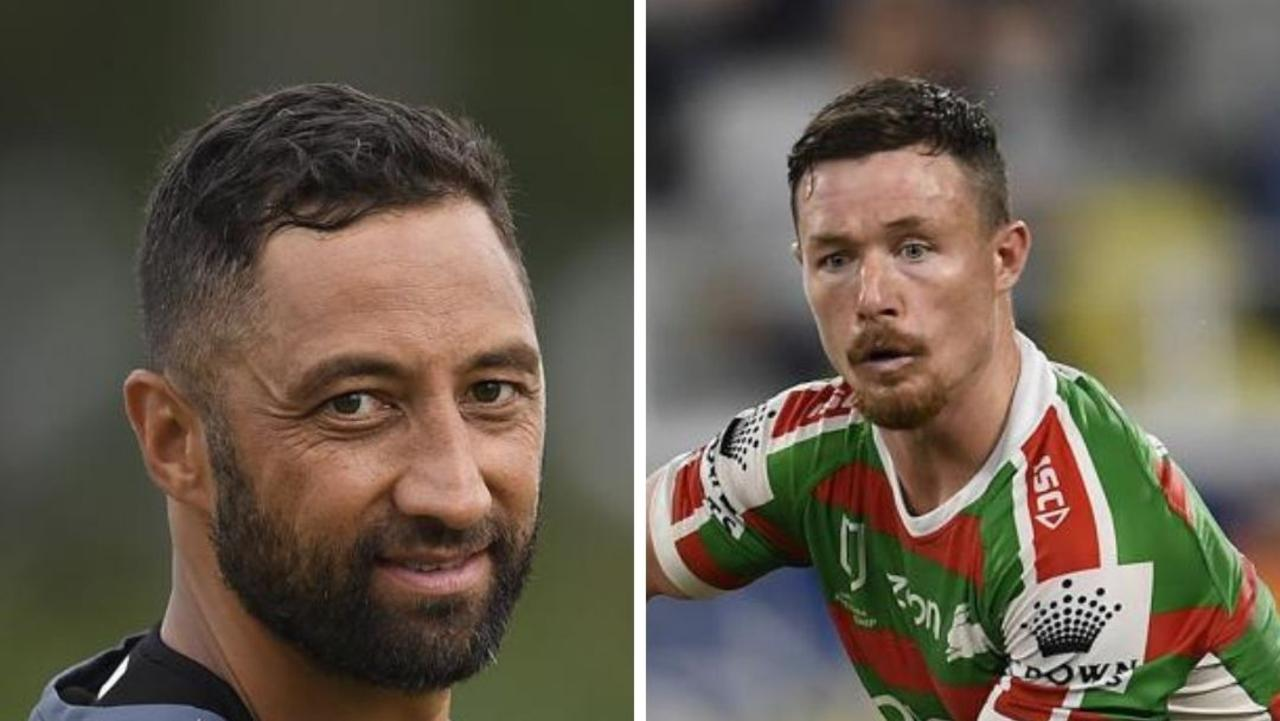 He may be one of rugby league's best hookers but no-one is safe from a Benji Marshall spray – not even Rabbitohs star Damien Cook.