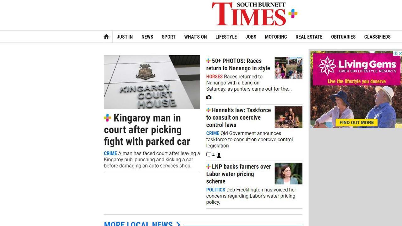 South Burnett Times Website
