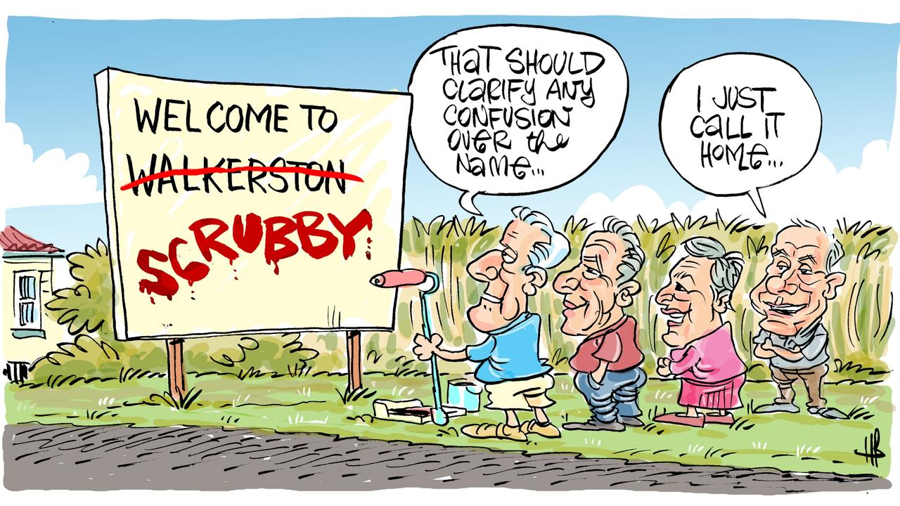 Today's Harry Bruce cartoon has been brought to you by Dawson MP George Christensen. George is a proud supporter of free speech and the ability of our cartoonists to take the mickey out of the political class.