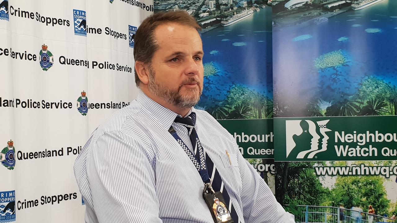 Far North District Acting Detective Inspector Kevin Goan. PICTURE: Andrea Falvo