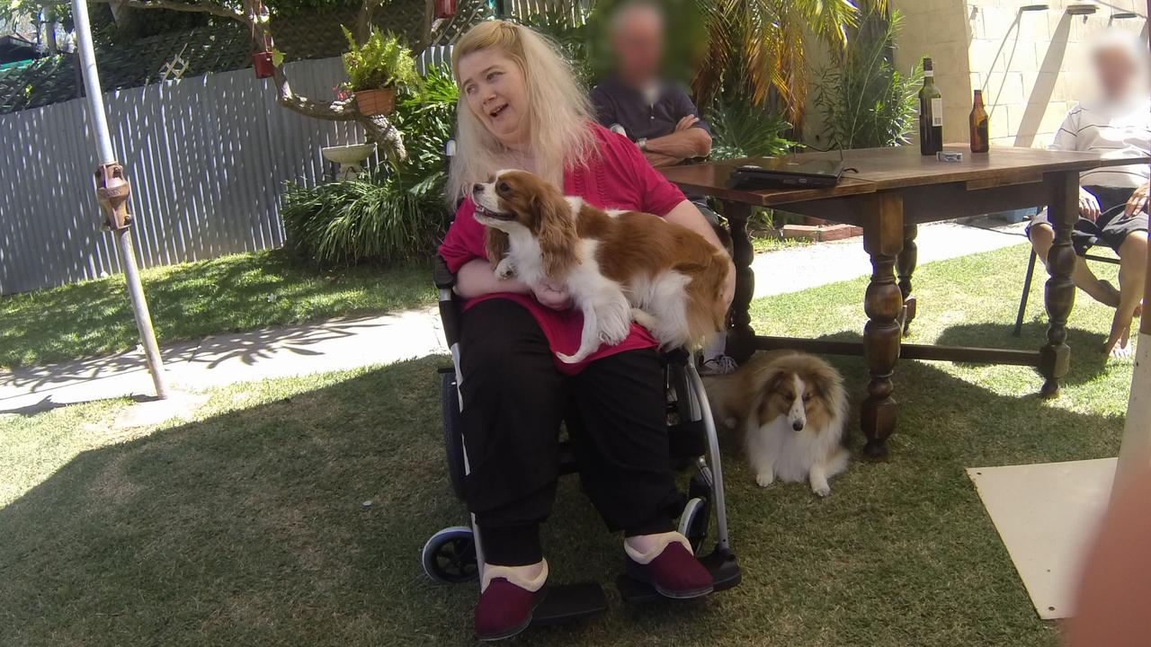 Ann Marie Smith, in 2011, with her dogs Maggie and Deana. Picture: SA Police.