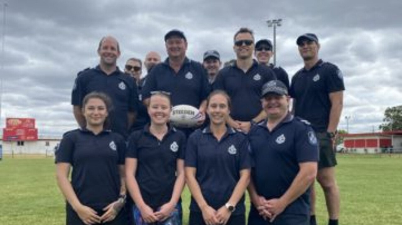 South Burnett police are set to run a serious of sport based skill workshops focusing on drug and alcohol education. Photo/Contributed