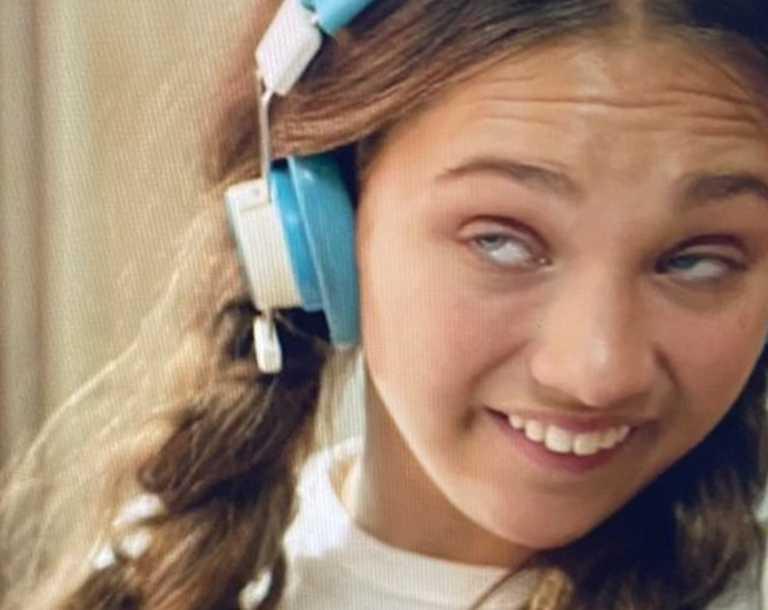 Maddie Ziegler in Sia's film Music.