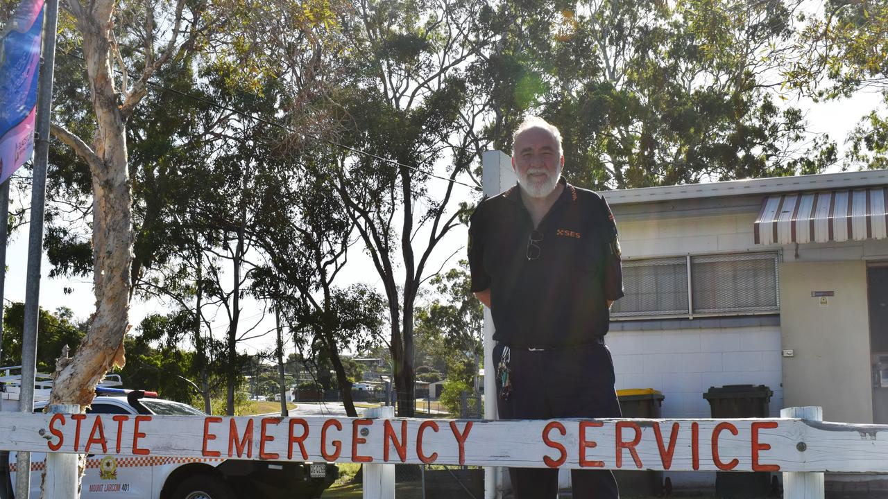 Doug Savage reflects on more than 40 years with the SES. Photo: Liana Walker