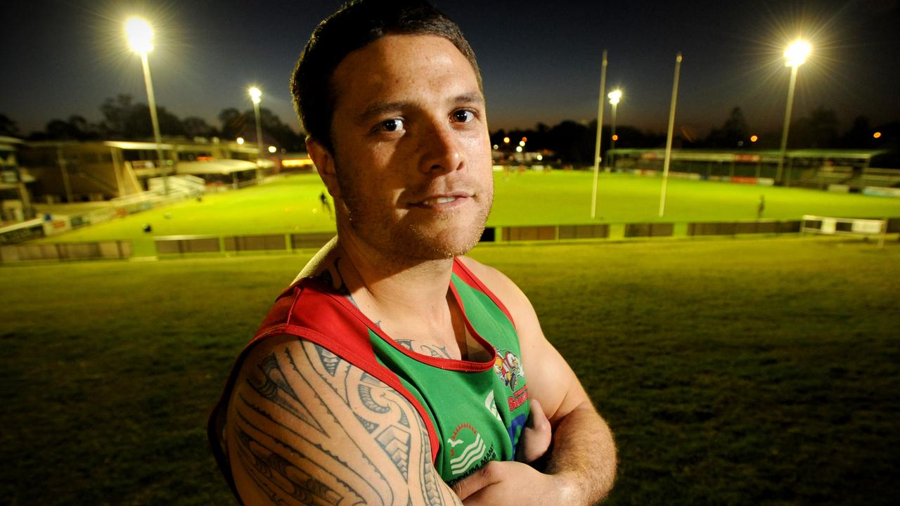 Wynnum Manly Seagulls premiership player John Te Reo. Picture: Richard Walker