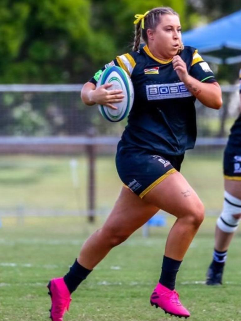 Tyla Mitchell has represented Caloundra Lighthouses, Sunshine Coast Stingrays in rugby and Maroochydore Swans in league.