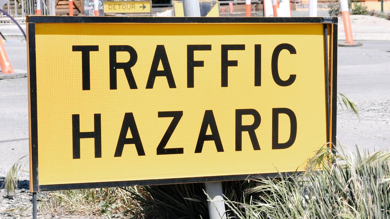 Traffic hazard.