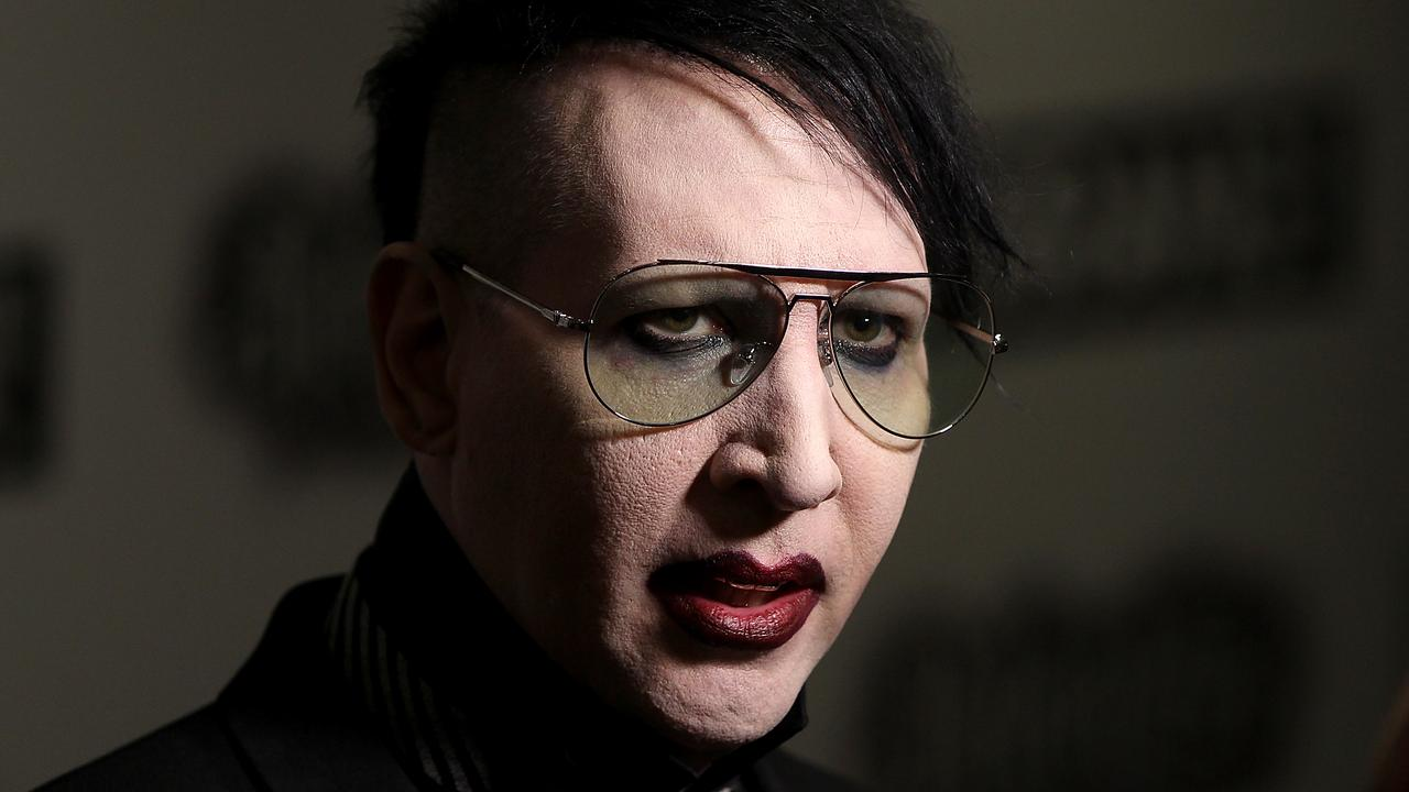 LONDON, ENGLAND - JUNE 10: Marilyn Manson attends the Relentless Energy Drink Kerrang! Awards at the Troxy on June 11, 2015 in London, England. (Photo by Danny E. Martindale/Getty Images)