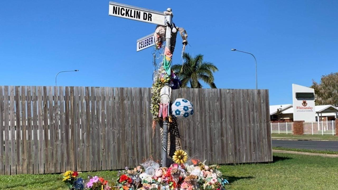Tributes for Nilly Mooney, who was killed in an alleged hit and run, are a tragic reminder of the 15 year old's death on March 1 this year on Beaconsfield.