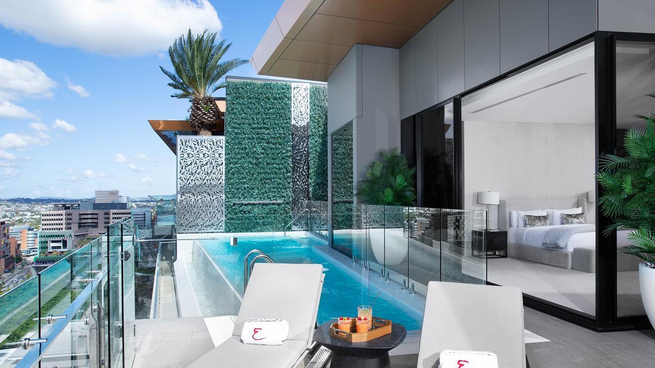 Lap of luxury: Emporium Hotel Parklands Penthouse Suite