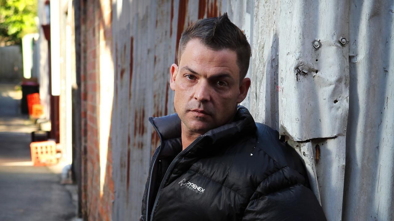 His older brother may be a wealthy Hollywood star, but things couldn't be more different for Andrew Gibson, living in a squalid housing commission flat.