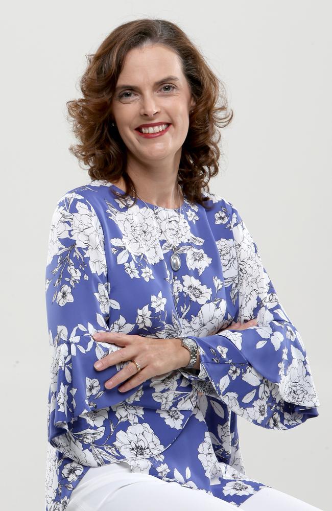 Brisbane dietitian and nutritionist Rachael Bradford. Picture: Steve Pohlner