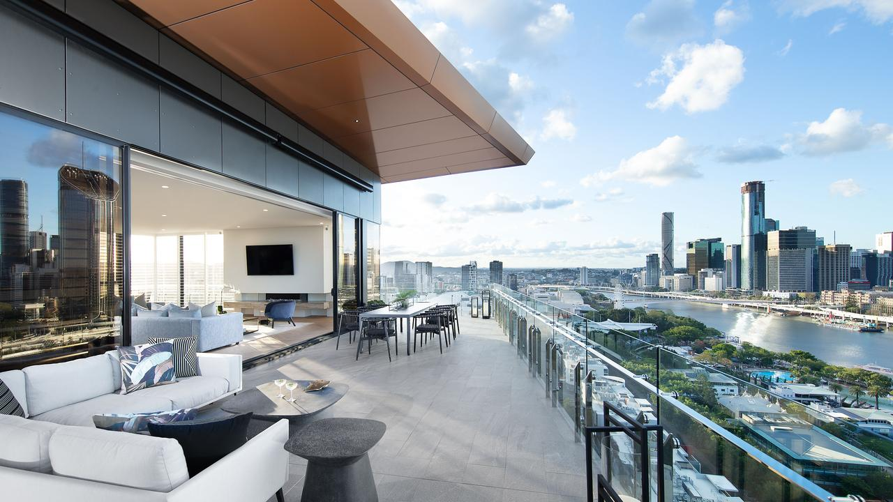City views: Emporium Hotel Parklands Penthouse Suite