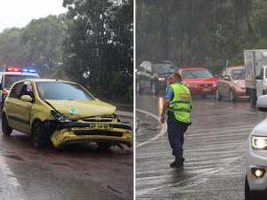 CHAOS: Crash leaves Pacific Highway gridlocked