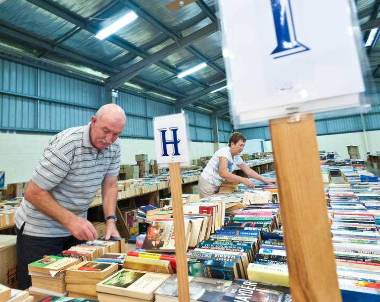 The Rotary Bookfest, which is returning to Coffs this weekend, is one of many great events taking place. Photo: Rob Wright / The Coffs Coast Advocate