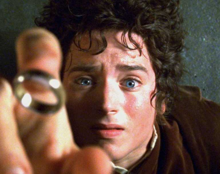 Actor Elijah Wood is shown in The Lord of the Rings: The Fellowship of the Ring. Picture: AP
