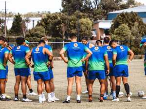 Behind the scenes: Photos of Warriors ahead of Titans clash