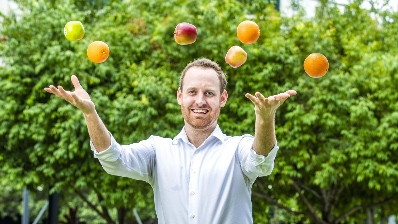 Swaggie Managing Director Jamie Wills, whose new app helps match fruit pickers and other casual labourers with employers, including fruit farmers. - Picture: Richard Walker
