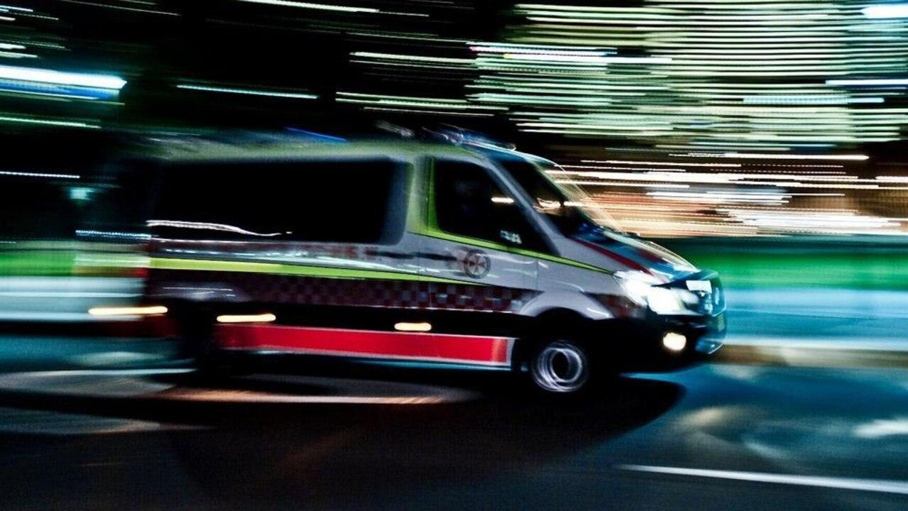 Paramedics rushed to Woombye on Thursday night.
