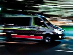 Woman suffers head injury in two-vehicle smash