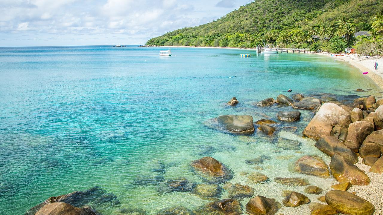 Fitzroy Island is among the travel offers available through Discover Queensland. Picture: Contributed