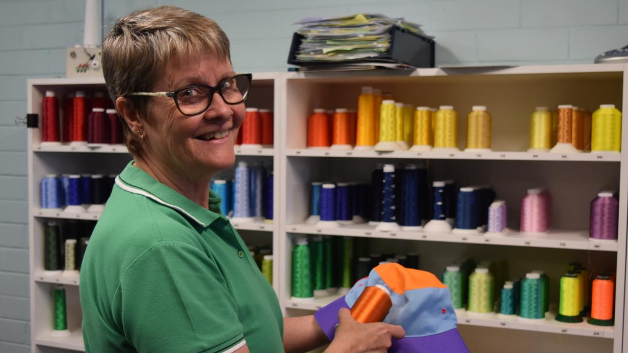 Creative Embroidery owner Robyn Volker. Picture: Sam Turner