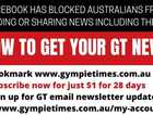 Facebook is only one of the ways we shared news from The Gympie Times. Here is how to make sure you don't miss out.
