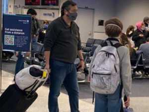 Airport photo sparks outrage in US