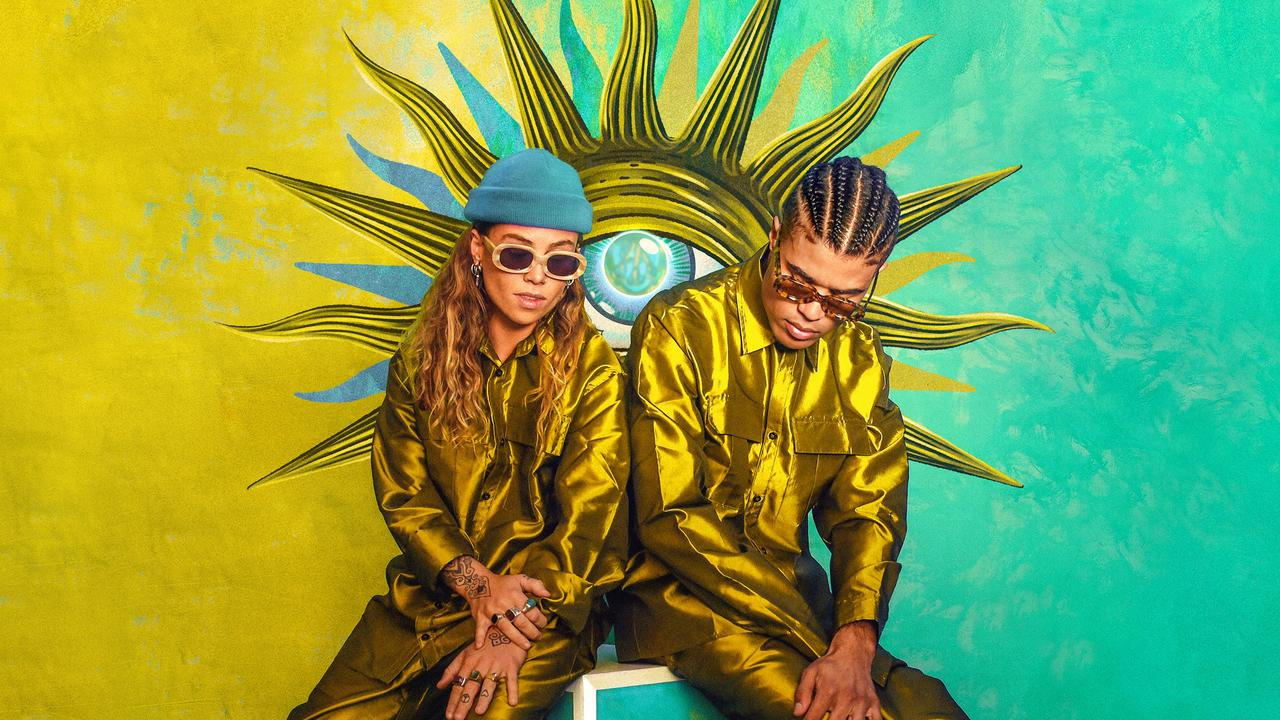 Tash Sultana and Jerome Farah released their single Willow Tree last year. Picture: Supplied