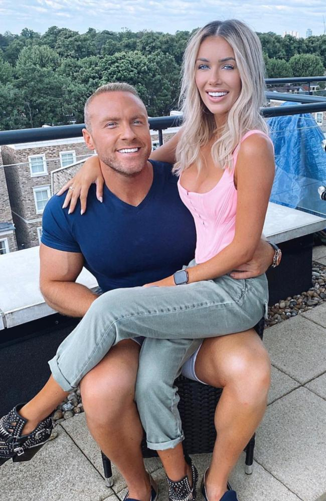Laura split from boyfriend Tom Brazier, 37, a fitness coach, last year. Picture: Instagram/lauraanderson1x