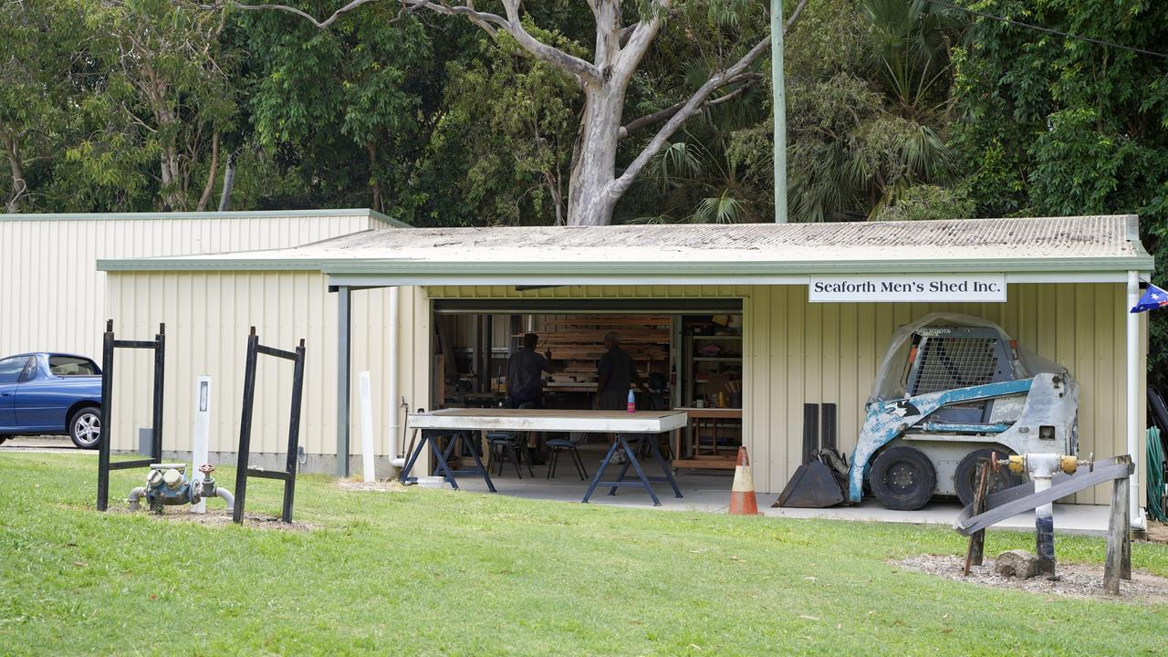 Seaforth Men's Shed. Picture: Heidi Petith