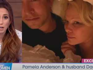 Pam Anderson's cringe interview from bed