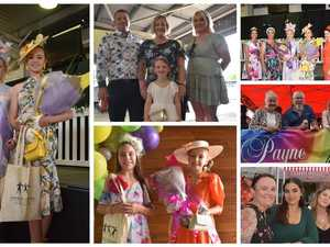 GALLERY: Fine fashions and business celebrations trackside