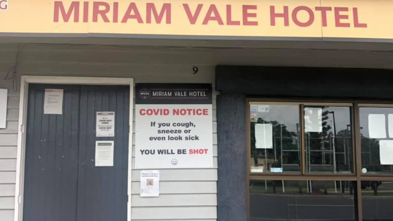 The Miriam Vale Hotel has taken a different approach to COVID-19 restrictions.