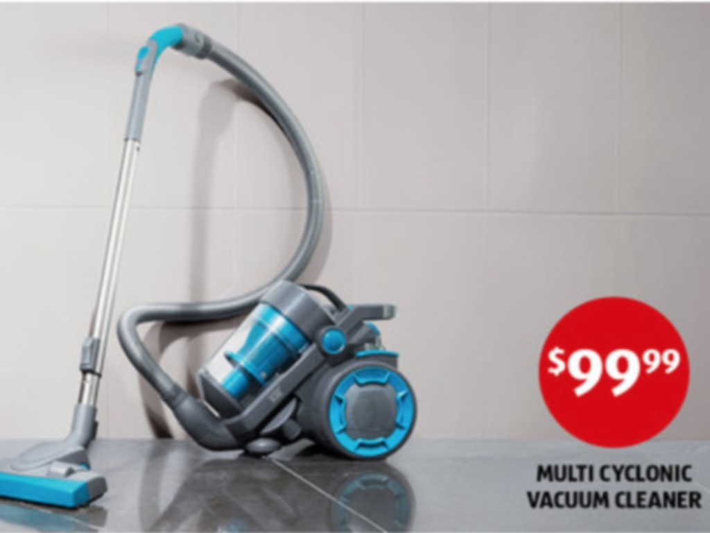 The customer experienced the concerning incident with this vacuum cleaner. Picture: ALDI