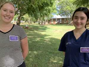 Graduate midwives start their Darling Downs health journey