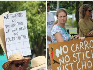 GALLERY: All the action from Coffs Harbour's COVID protest