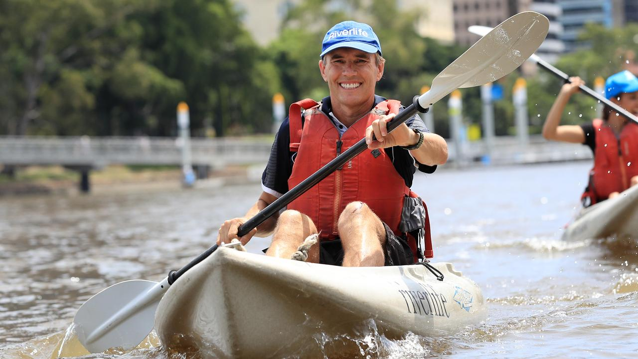 Riverlife boss John Sharpe on the Brisbane River