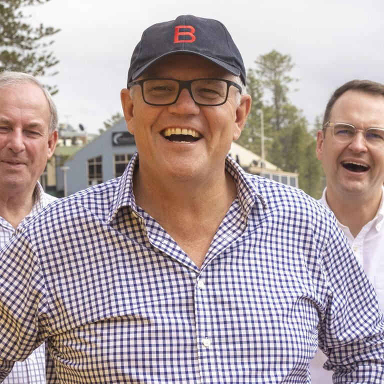 Prime Minister Scott Morrison will be vaccinated on Sunday. Picture: NCA NewsWire/Jenny Evans