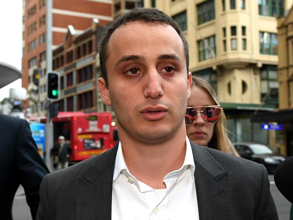 After two trials and two appeals, Luke Lazarus was acquitted of assaulting Saxon Mullins in a Kings Cross alleyway in 2013. Picture: AAP Image/Dan Himbrechts
