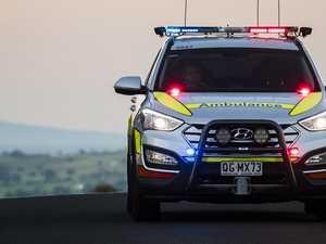 Paramedics rush to early morning motorbike crash